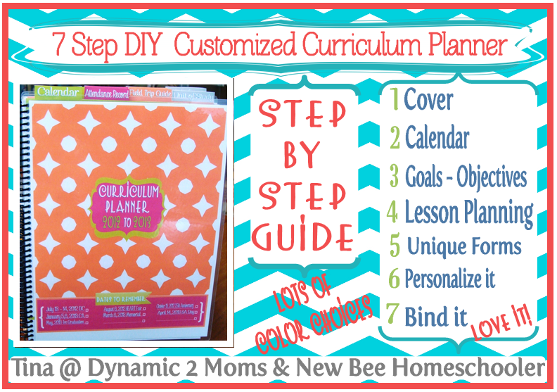 Diy Calendar Homeschool : Days of tina s step diy curriculum planner day