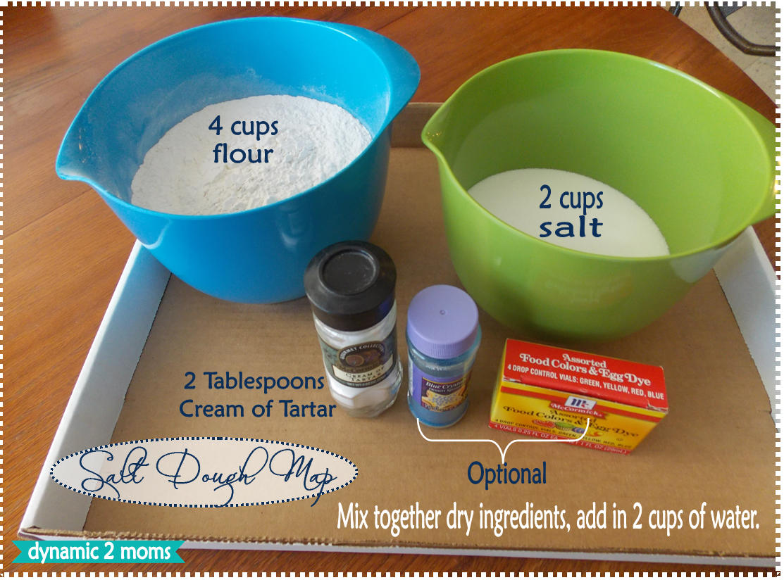 salt dough map Archives - Tina\'s Dynamic Homeschool Plus