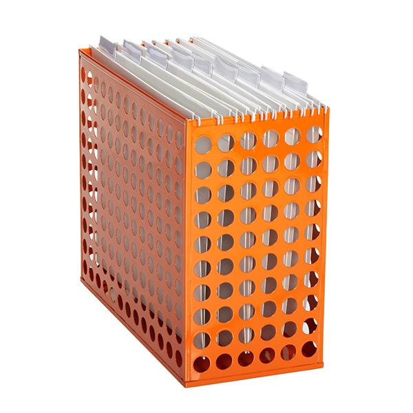 orange hanging file