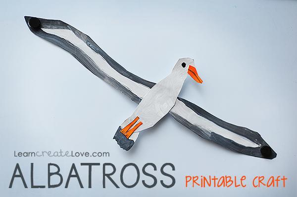 Albatross Crafts For Kids
