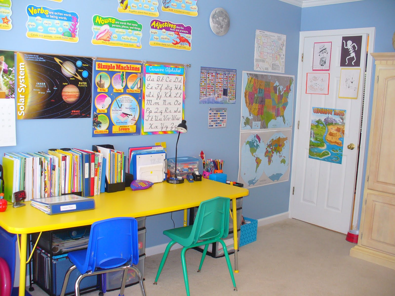 blog%20003 Homeschool Organization + {Storage, Spaces and Learning Places Part 1}