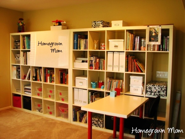 homeschool room 18 Homeschool Organization + {Storage, Spaces and Learning Places Part 1}
