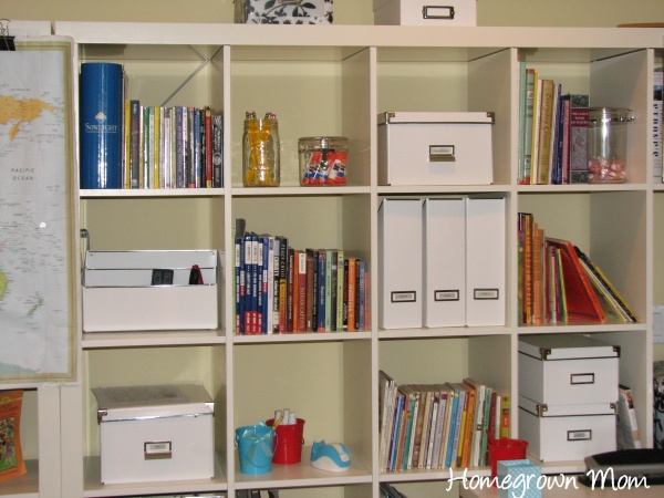homeschool room 91 Homeschool Organization + {Storage, Spaces and Learning Places Part 1}